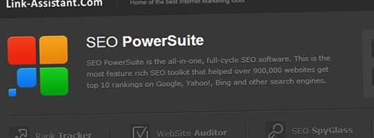 Posicionamiento web con SEO PowerSuite